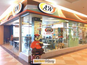 A&W Batam Mega Mall Copyright @ BatamGetaway.com