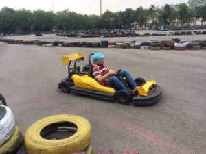 Batam golden city go-kart