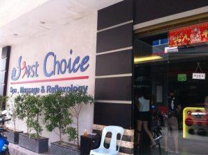 First Choice Spa Massage Reflexology