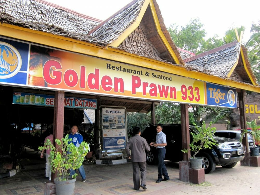 Golden Prawn 333 Batam Indonesia Seafood Restaurant