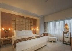 Batam Allium Hotel blog review samali suite